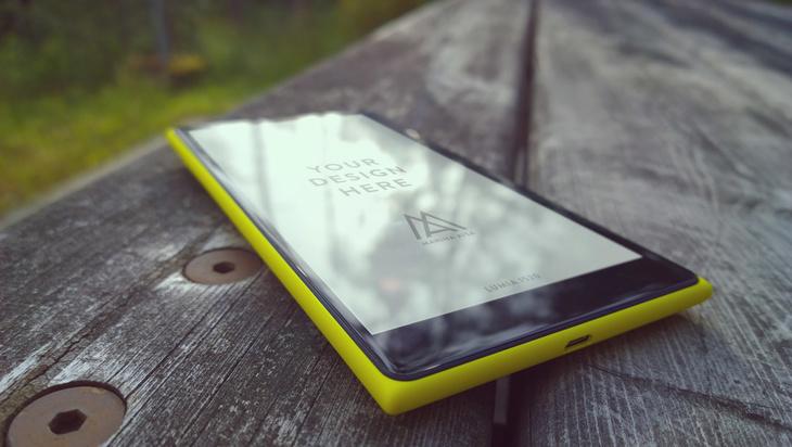 Lumia 1520 Mock ups