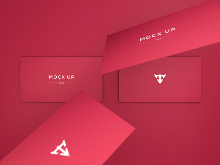 Business Cards Mock Up