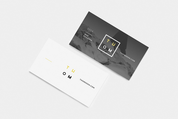 7+ Clean Business Card Free Mockup