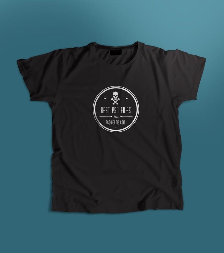 T-shirt Free PSD Mockup