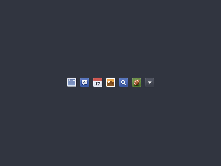 Facebook Newsfeed Icons