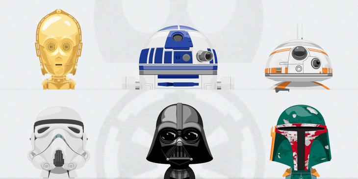 Free PSD Star Wars Avatars