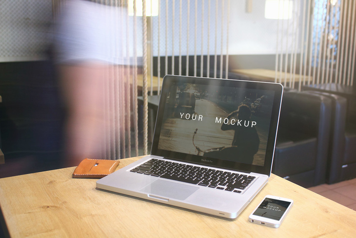 MacBook Pro PSD Mockup