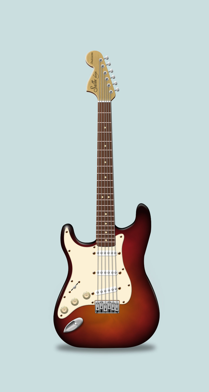 Electric Guitar PSD
