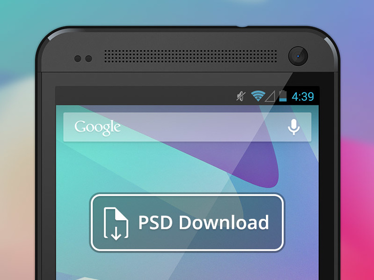 HTC One PSD