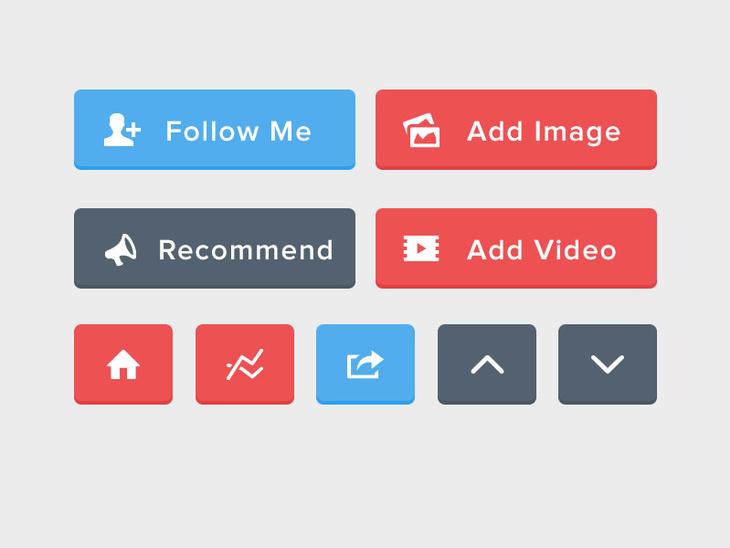 Flat UI Buttons