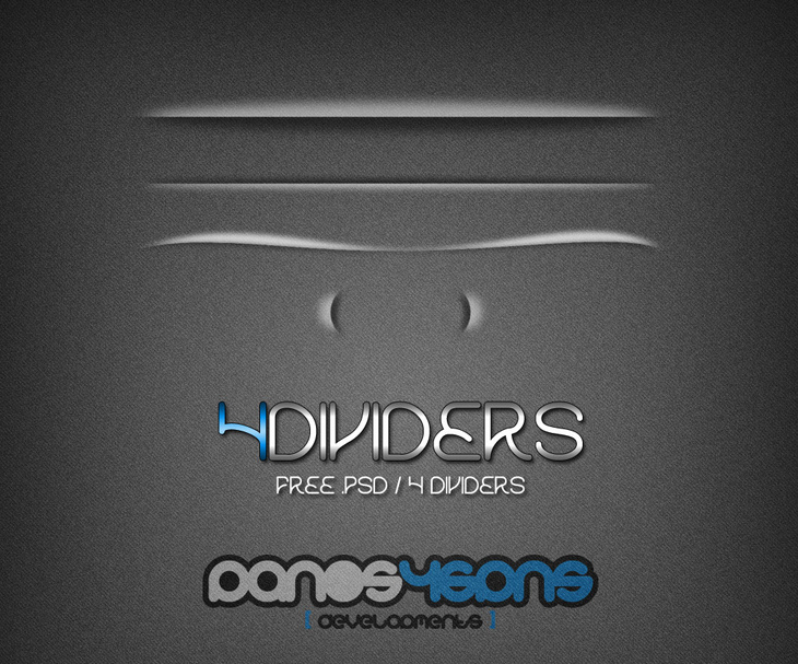 Free Dividers PSD