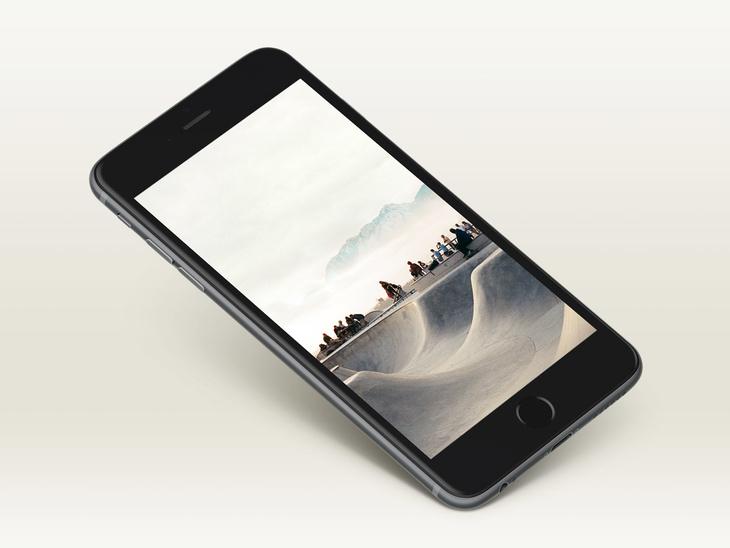Free iPhone 6+ Mockup