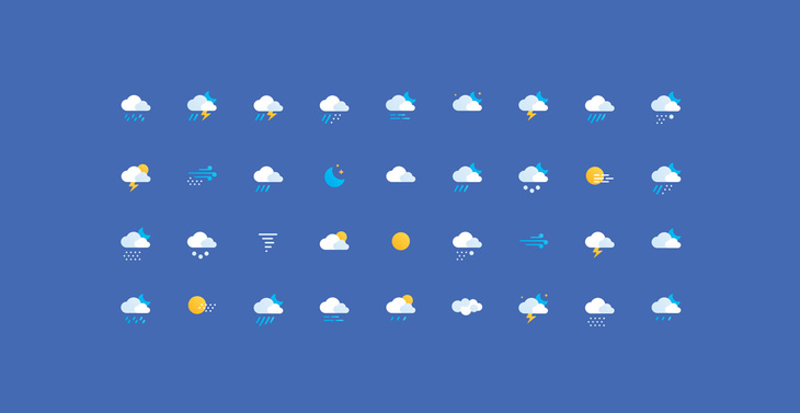 36 Free Weather Icons