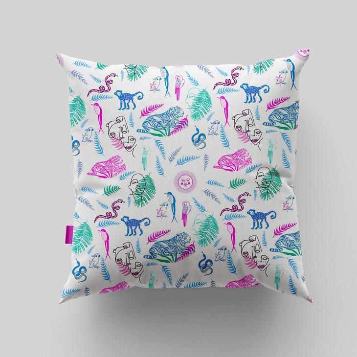 Free Pillow Mockup
