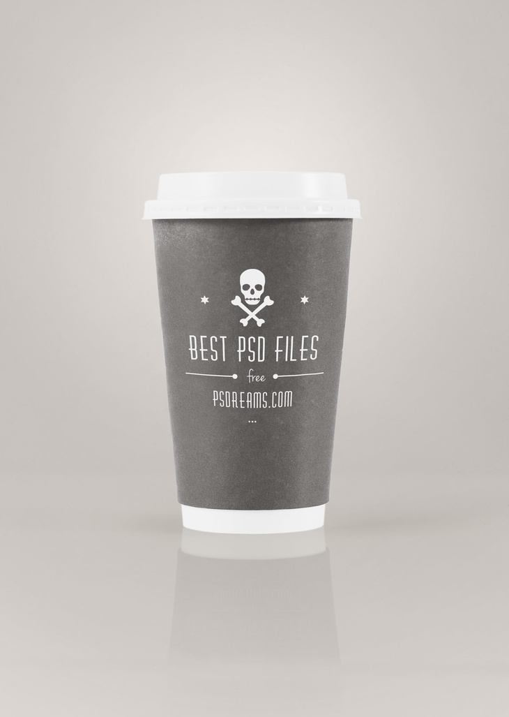 Coffee to Go PSD Mockup