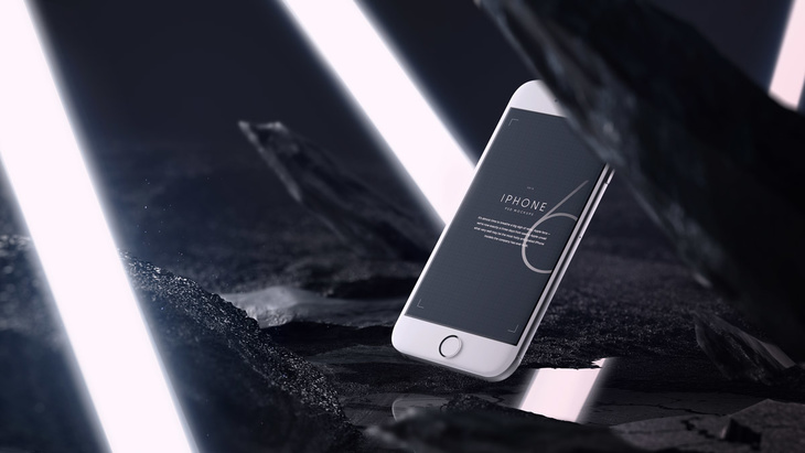 iPhone 6 PSD Mockups Pack