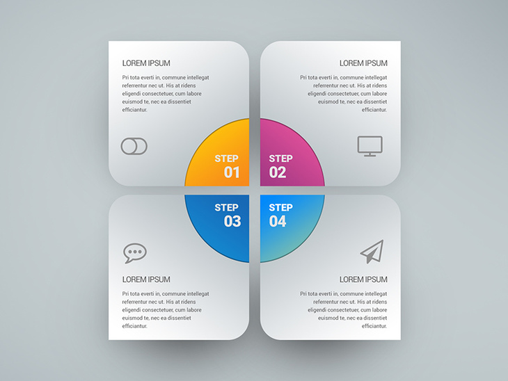 Infographic Free PSD - Free PSD File