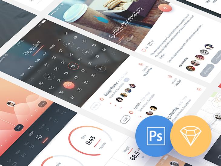 Phoenix UI for iPhone 6