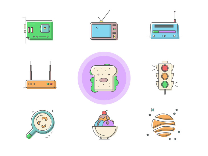 40 Free PSD Icons