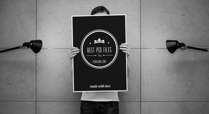 Poster Free PSD Mockup