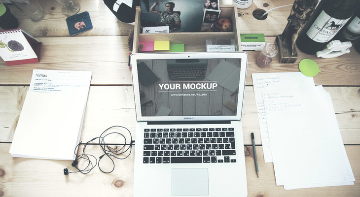 Macbook Air Free Mockup