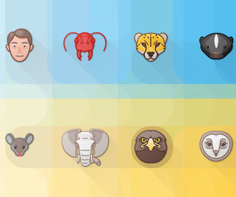 Free Animal PSD Icon Set