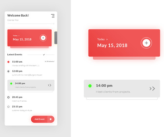 Calendar Plan - Tasks Events App