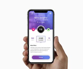 App User Profile, Ui