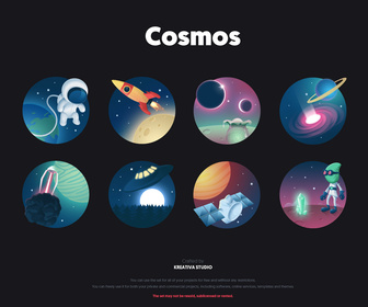 Free Cosmos Icon Set