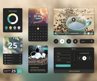 Free PSD UI Starter Kit