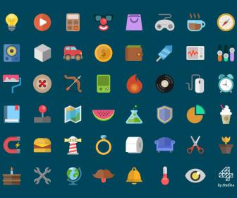 Free Flat Icons