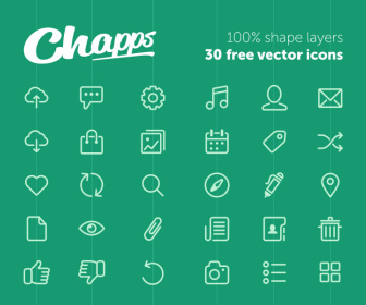 30 Free Outline Icons