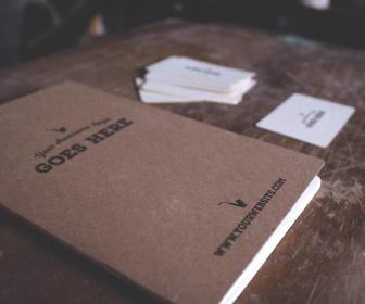 Vintage Journal Mockup