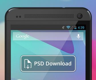 HTC One PSD