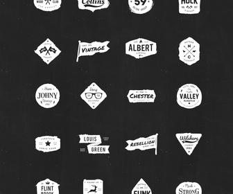 20 Ink Logos free PSD