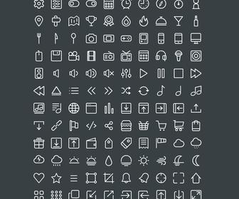 220 Line Icons