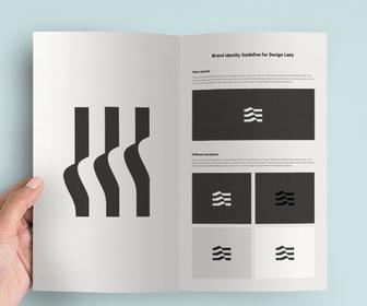 Design Brochure Mockup Photoshop File