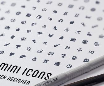 Minimalistic 1000 Vector Icons