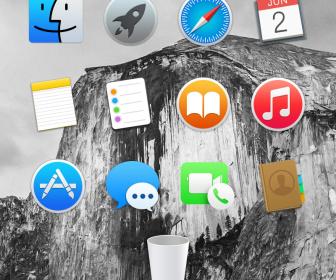 Yosemite Dock Icons