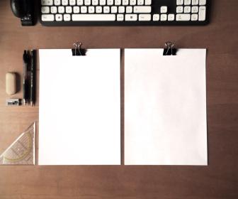 Paper CV Mockup