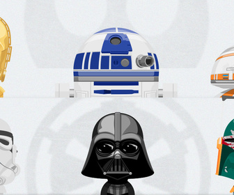 Free PSD Star Wars Avatars